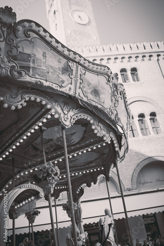 Luna park,cyrcus and carousel series