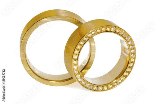 Eheringe Trauringe Hochzeit Schmuck Gold Goldringe © Andrea Leiber