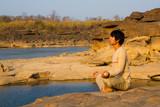 Meditation in nature