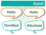 Greeting words in Dutch language