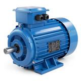 Industrial electric motor blue - 159084121