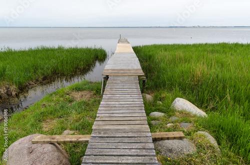 Foto op Aluminium Pier Traditional wooden jetty