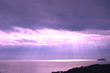 View Sky,ocean,pink color light ,Italy
