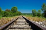 F, Burgund, Thorey-sur-Ouche, Bahnstrecke, Schmalspur