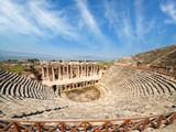Amphitheater in Hierapolis near Pammukale, Turkey
