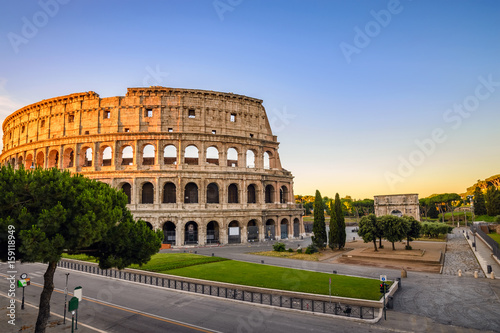 Rome Colosseum (Roma Coliseum), Rome, Italy