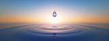 Wassertropfen im weiten Ozean - 159134975