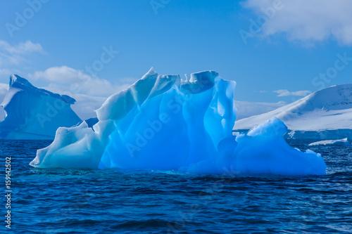 Wonderful transparent iceberg in Antarctica