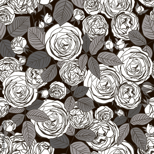 Seamless floral Pattern - 159148956