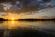 Sunset On A Michigan Lake