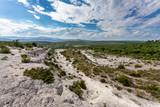 vue aérienne sur la nature sauvage des régions du sud de la France