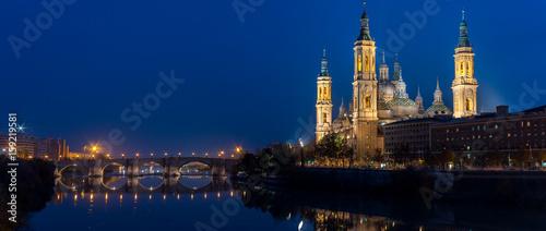 Basilica of Pilar af Zaragoza