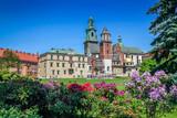 Krakow Poland Wawel castle.