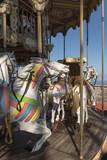 Vintage carousel  in Barcelona