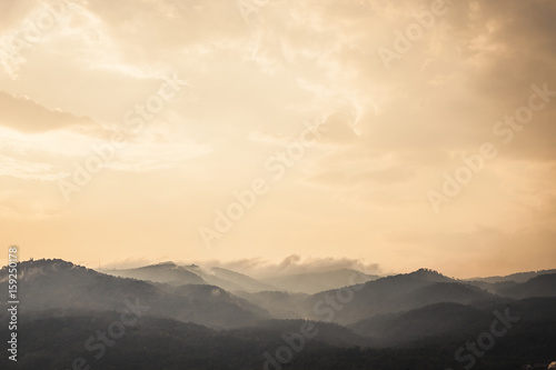 Staande foto Beige Mountains in Chiang Main, Thailand