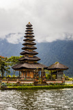 Bedugul Temple in Bali, Indonesia
