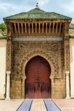 Moulay Ismail Mausoleum Meknes Marokko
