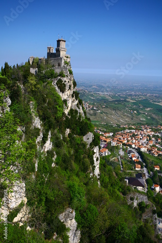 San Marino is a small country located on the Italian peninsula.  The city become the oldest republic in Europe.