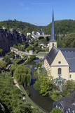 Luxembourg City - Ville de Luxembourg poster