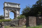 Arch of Titus - Roman Forum - Rome - Italy poster
