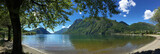 Italian Lakes - Lake Lugano - Italy. poster