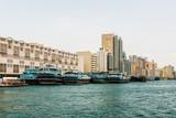 Boats in Arab city