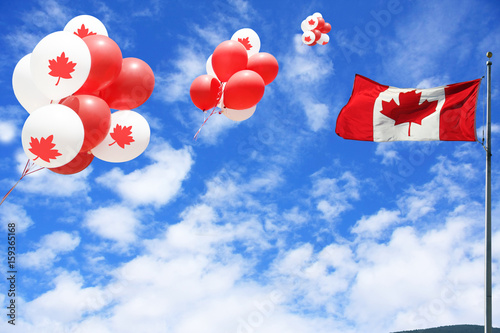 Foto op Canvas Canada Canada day