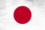 Japan flag grunge background. Background for design in country flag - 159405911