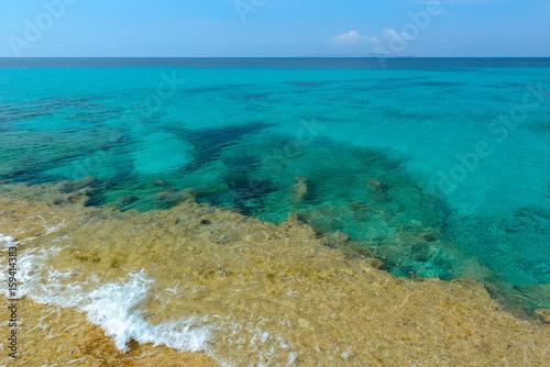 Turquoise waters of the Mediterranean Sea, Majorca, Spain