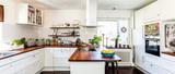 stylish kitchen banner  - 159415379