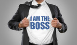 I am the Boss / Man open Shirt - 159415751