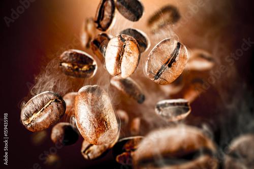 Papiers peints Café en grains coffee splash