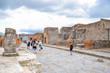 Scavi Pompei - Visitatori