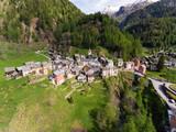 Landscape of Fusio, Ticino, Swiss