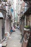 Narrow Alley in Kowloon Hong Kong Hong Kong