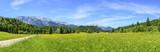Naturlandschaft in der Elmau bei Krün