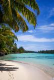 Paradise tropical beach and lagoon in Moorea Island - 159492313