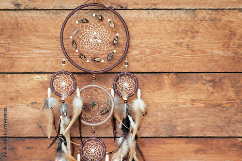 Poster Dreamcatcher, spiritual folk american native indian amulet