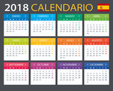 Calendar 2018 - Spanish version - 159498376
