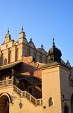 Detail of the historical architectur in Krakow Poland
