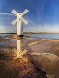 Windmill over the sea