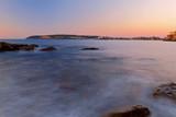 Sunrise color at Freshwater Beach, Sydney, Australia