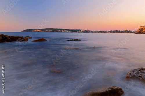 Plagát Sunrise color at Freshwater Beach, Sydney, Australia
