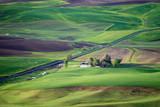 Palouse Fields and Spokane, WA