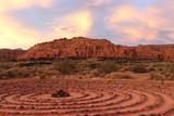 Sunset at Red Mountain resort, Utah