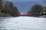 On the pleasure boat of Lake Biwa Canal