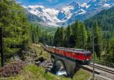 Czerwony Pociąg Bernina - Szwajcaria