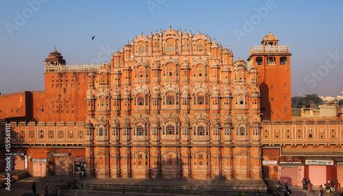 Foto Murales Indien - Rajasthan - Jaipur - Palast der Winde