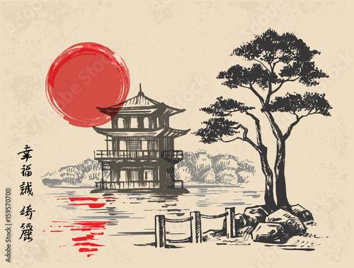 japonski-szkic-ilustracji