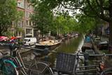 Die Gracht in Amsterdam